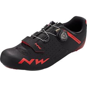 Northwave Core Plus Schoenen Heren, zwart/rood